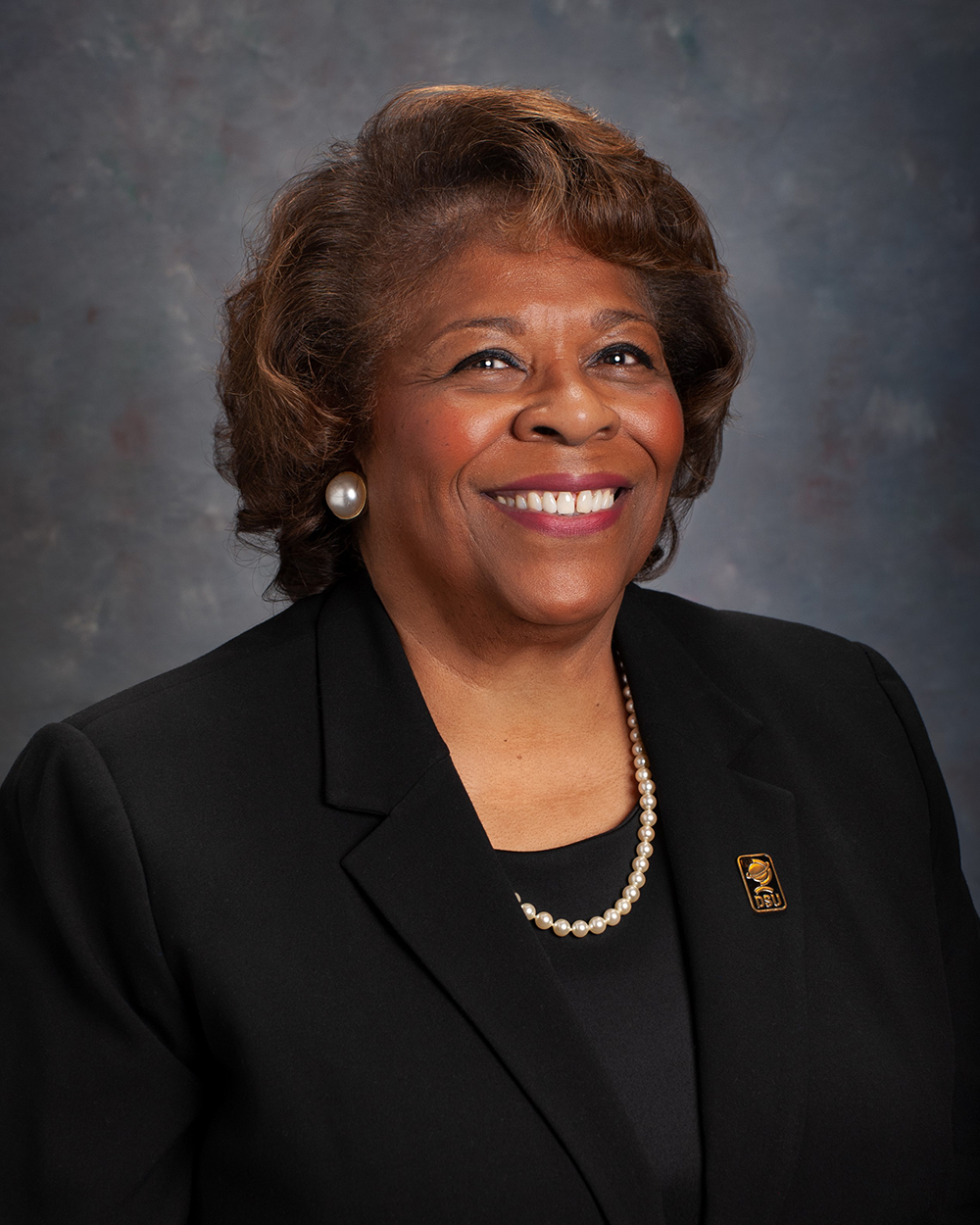 "President Wilma Mishoe's career at Delaware State University has been marked by an emphasis on ""Students First."""