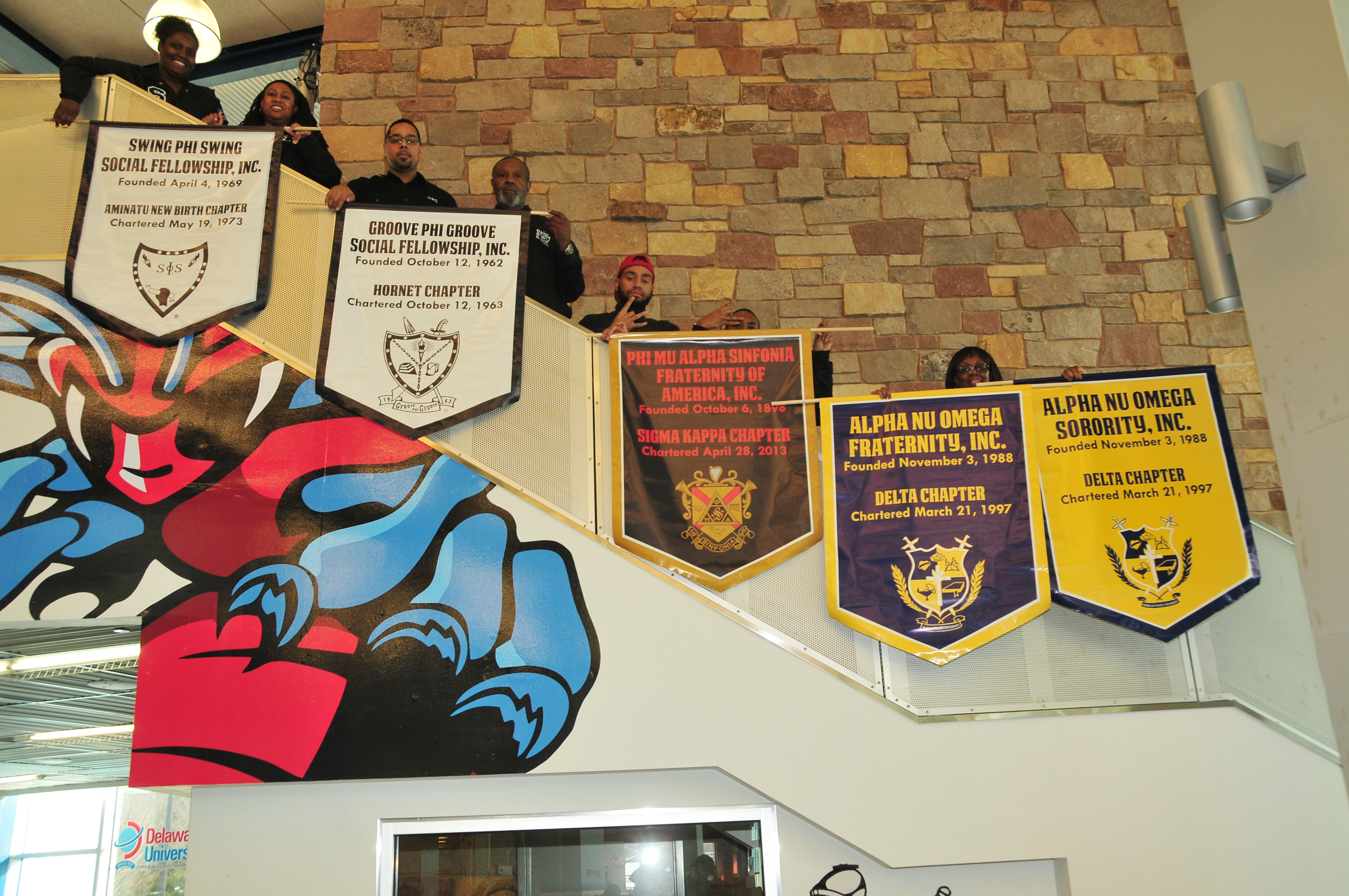 Council of Independent Orgainzations banners.