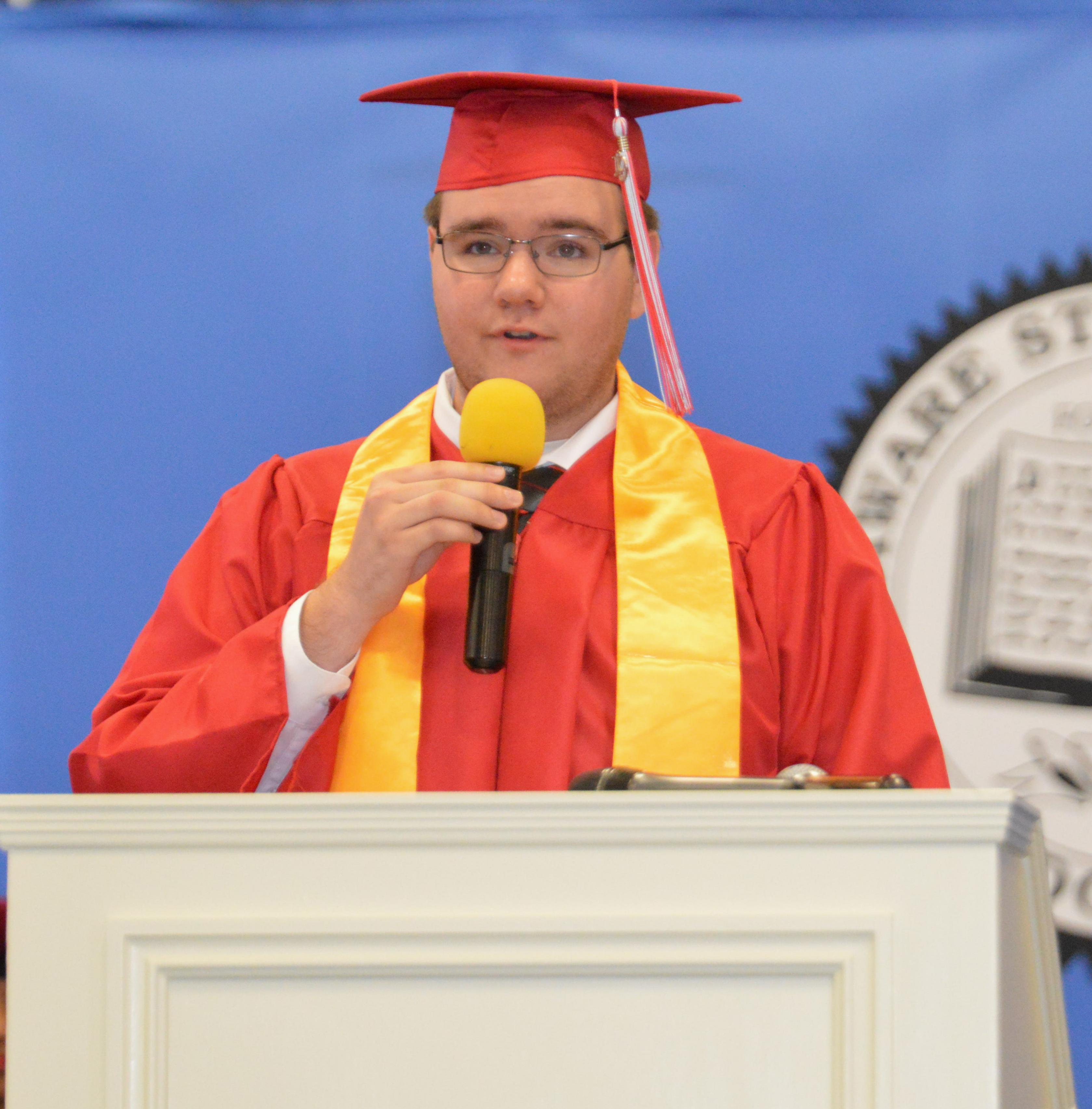 Matthew Ward, 2019 ECHS valedictorian.