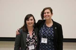 (L-r) Dr. Krystal Hans and Dr. Kylie Parrotta are the principal investigator and co-PI of the NSF grant, respectively.