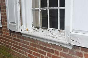 Part of the grant will be used to replace the existing deteriorating windows.