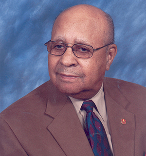 Dr. Ulysses S. Washington was a faculty member and chair at the College for 49 years.