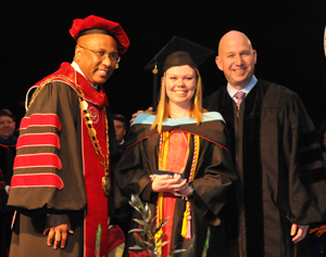 DSU, Commencement, Presidential Academic Award