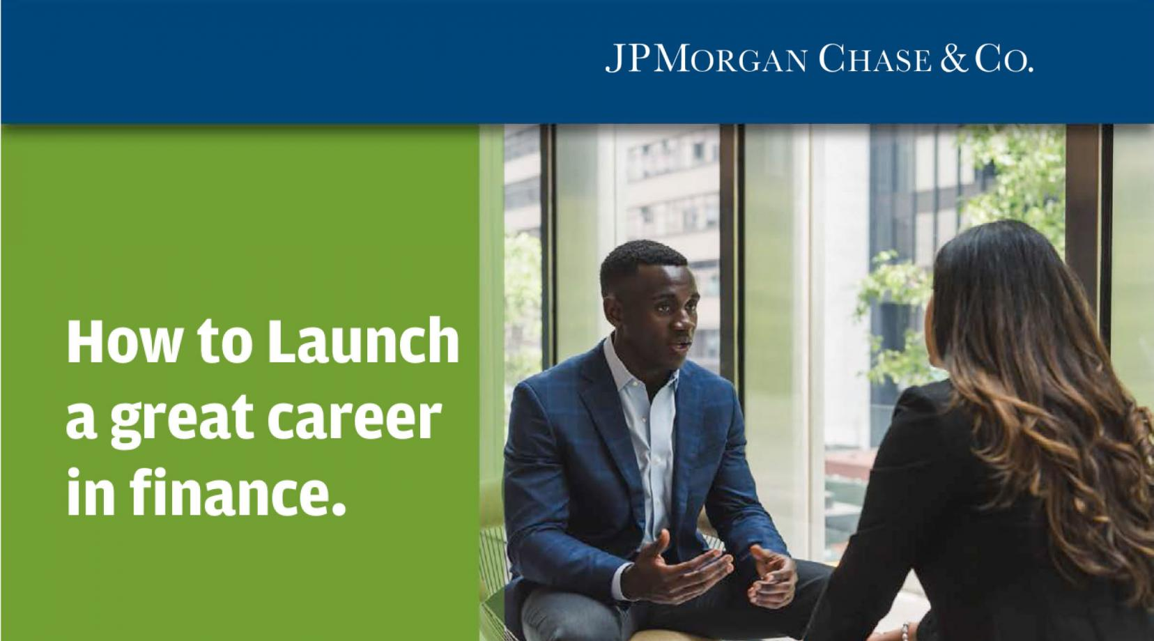 JPMorgan Chase & Co Takeover day at Delaware State University