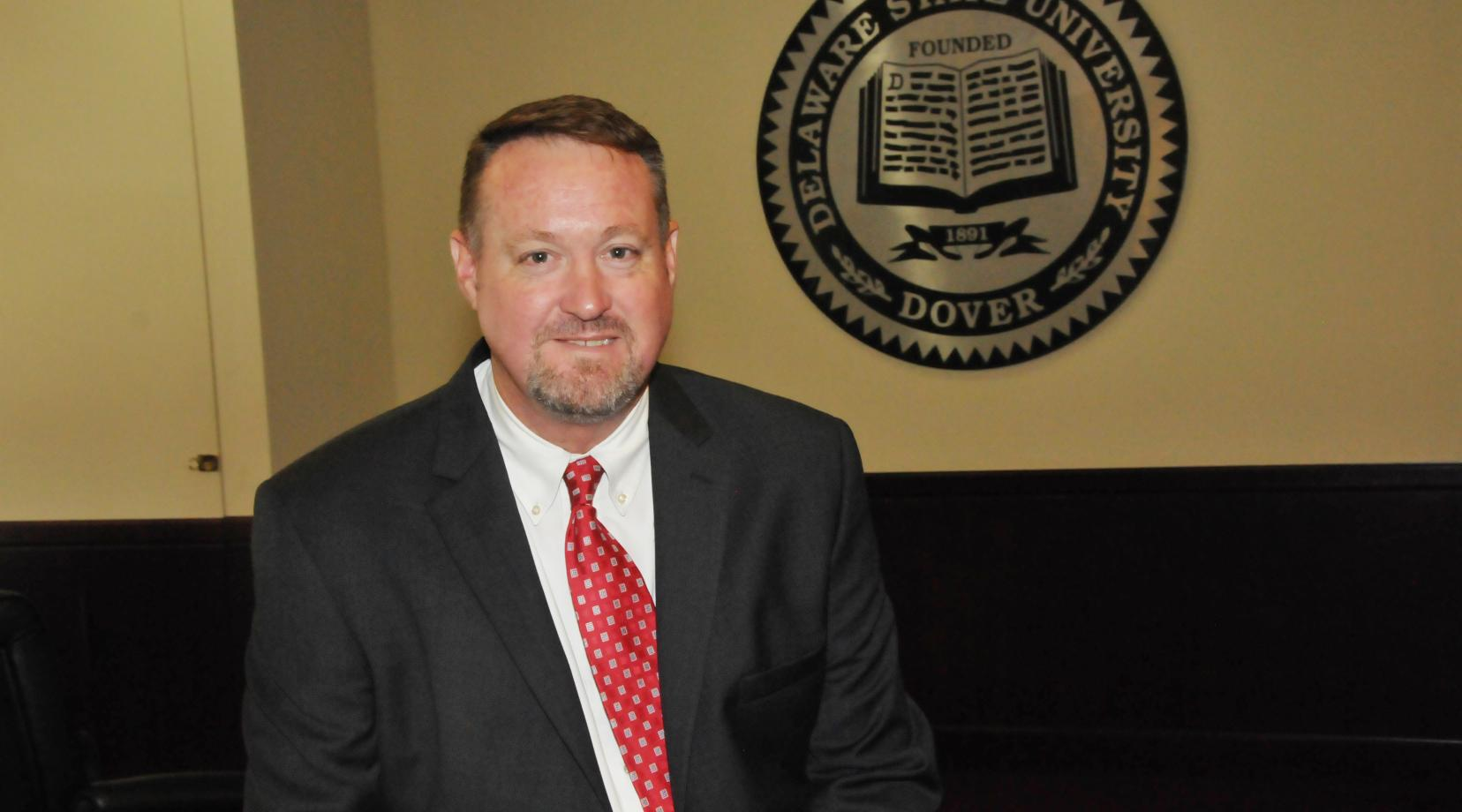 <p>Robert Schrof, the new vice president of finance, brings 25 year of executive finance experience to DSU.</p>