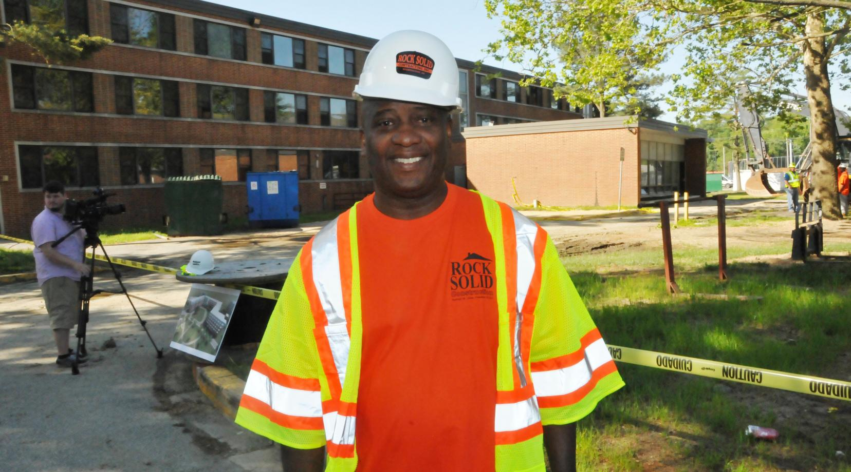 <p>DSU alumnus Norman Oliver's Rock Solid Contracting is enlisted along with Wohlsen Construction to demolish Laws Hall -- the same residential hall where he worked as a residential assistant in the early 1980s.</p>