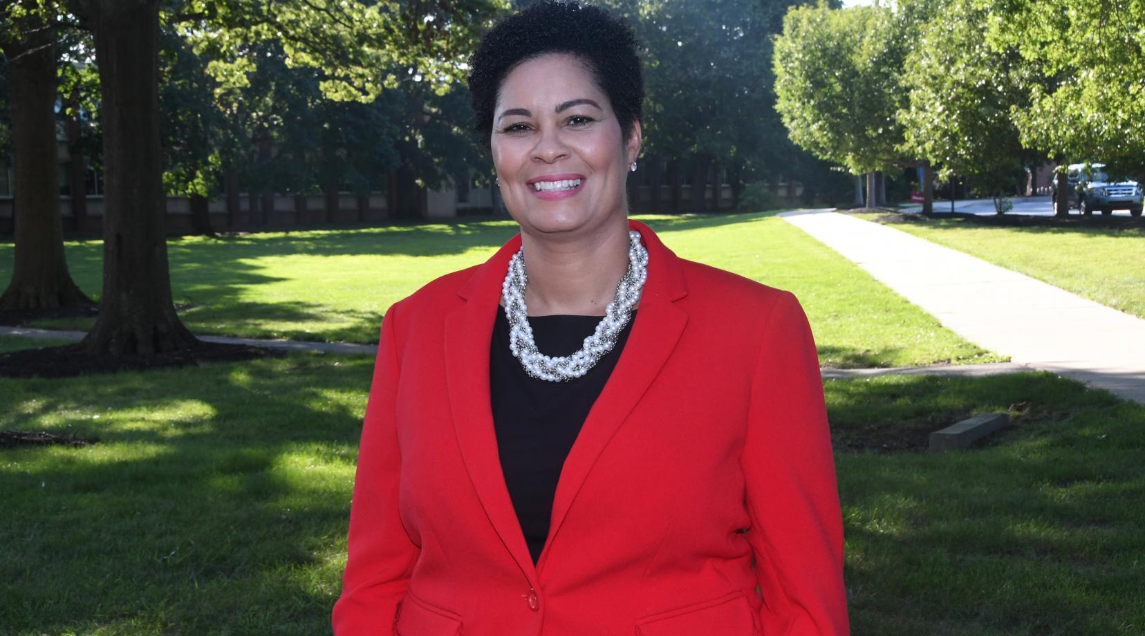 <p>Jackie Griffith will serve as DSU's primary liaison with elective and administrative officials at the local, state and federal levels as well as with community partnerships and contacts.</p>