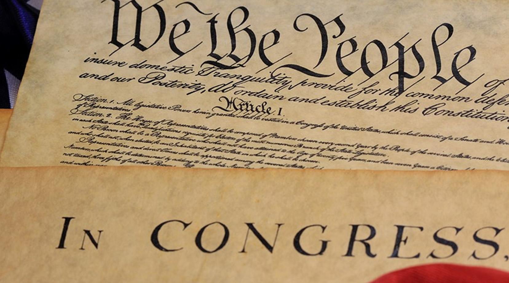 <p>The U.S. Constitution</p>