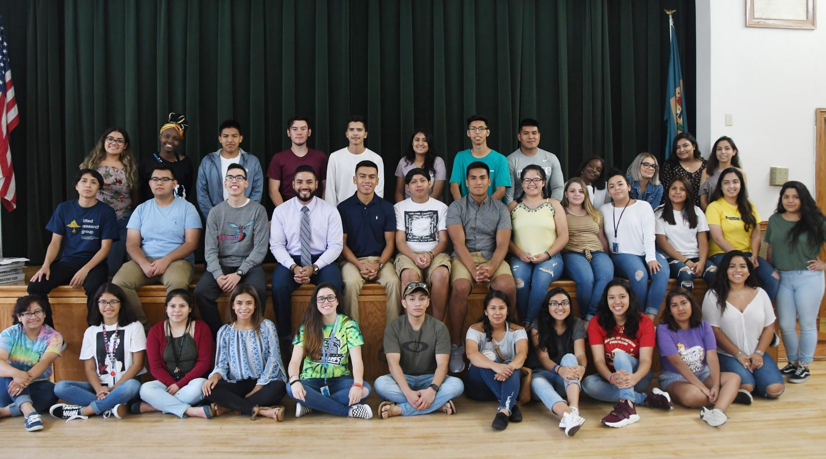 """<p>A new freshman class of """"Dreamers"""" have begun their academic journey at DSU this fall. It is the third consecutive school year that DSU has gladly enrolled DACA students as part of the Opportunity Scholarship Program.</p>"""