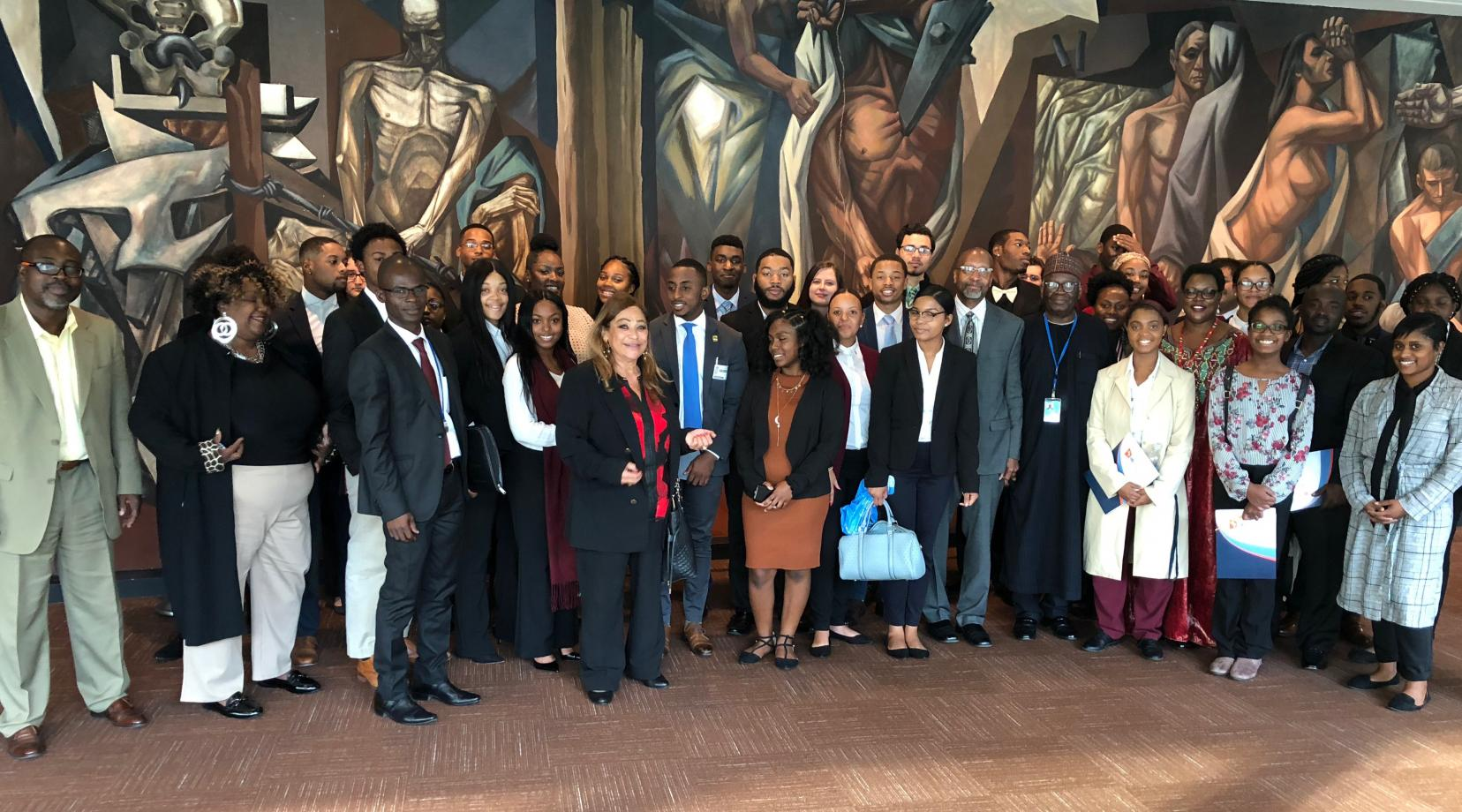 "<p>Fifty students along with faculty members from Delaware State University recently attended the ""Africa Dialogue Series"" at the United Nations in New York City.</p>"
