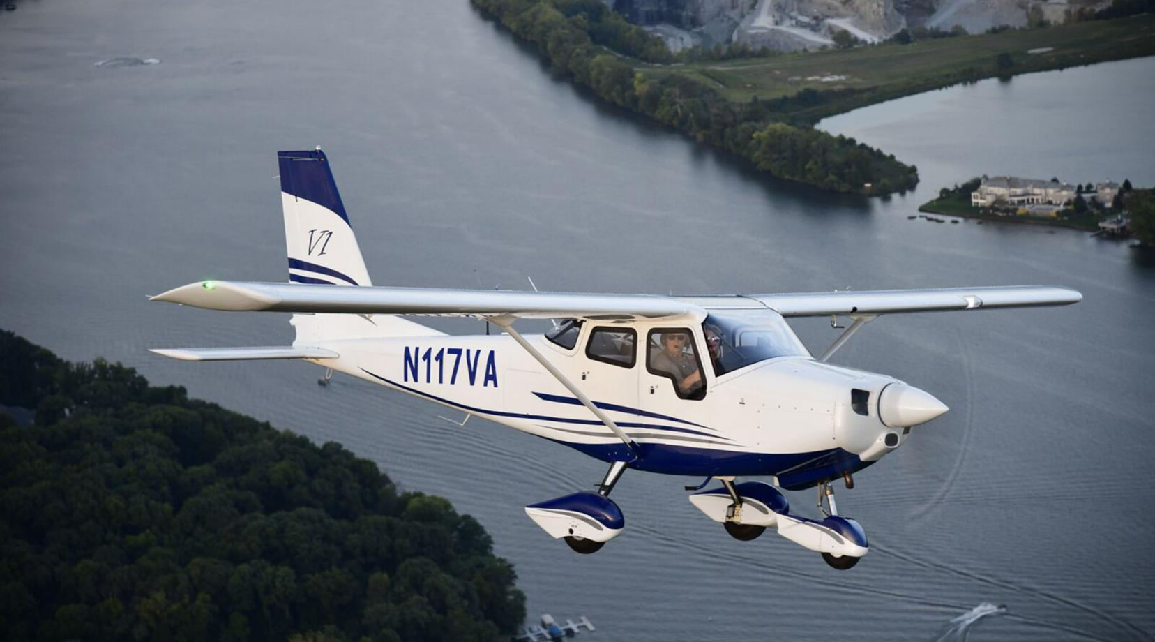 The University's Aviation Program is expanding its fleet with 10 of the pictured 10 Vulcanair V1.0 aircraft.