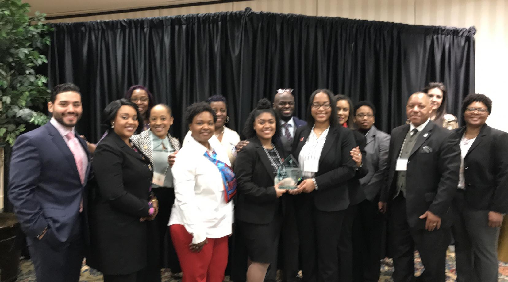 <p>A team of University members represented the institution well at the recent HBCU Retention Summit in Ocean City, Md. , with a number serving as panelists and presenters.</p>
