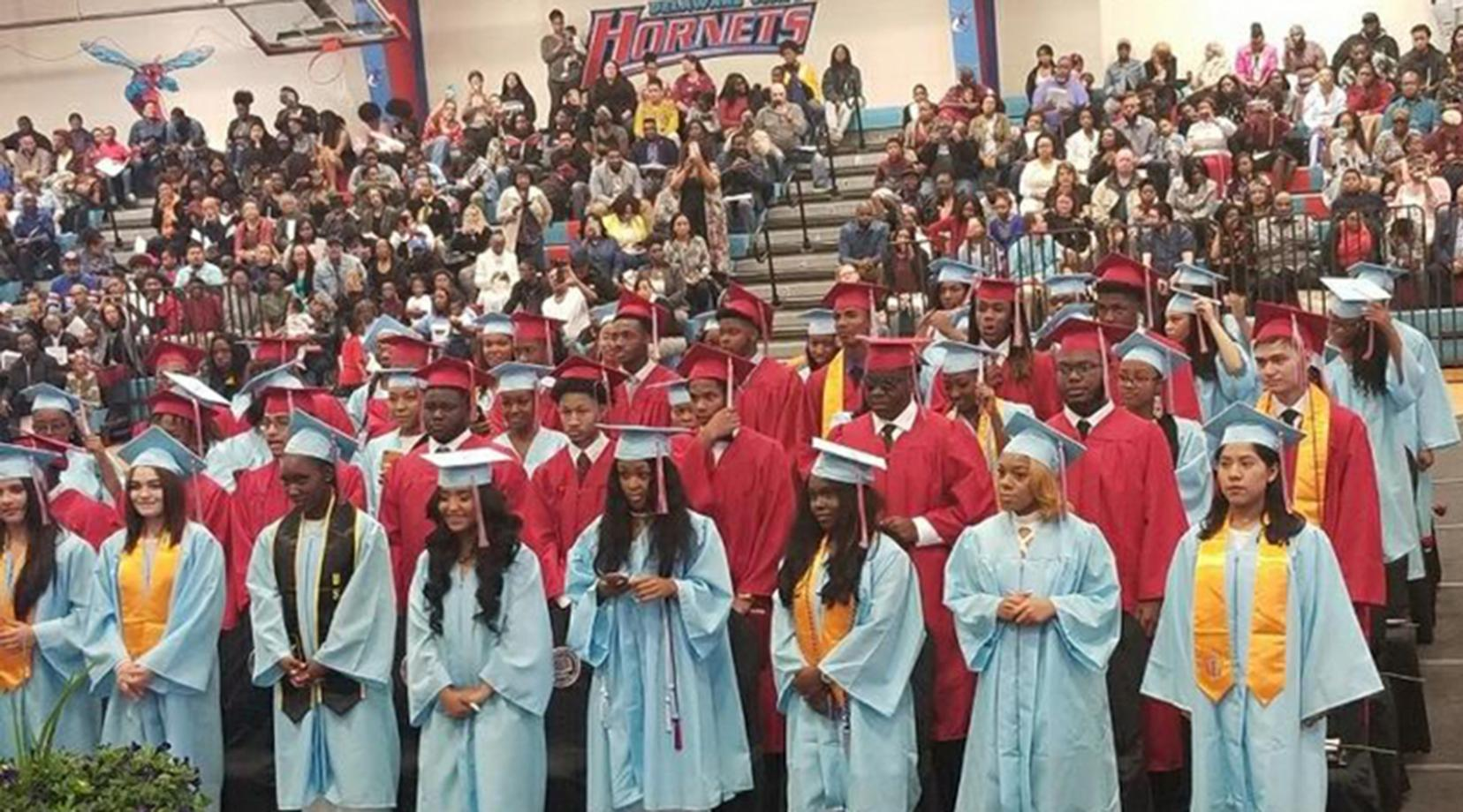 <p>The second graduating class of the Early College High School was comprised of 67 Class of 2019 members.</p>