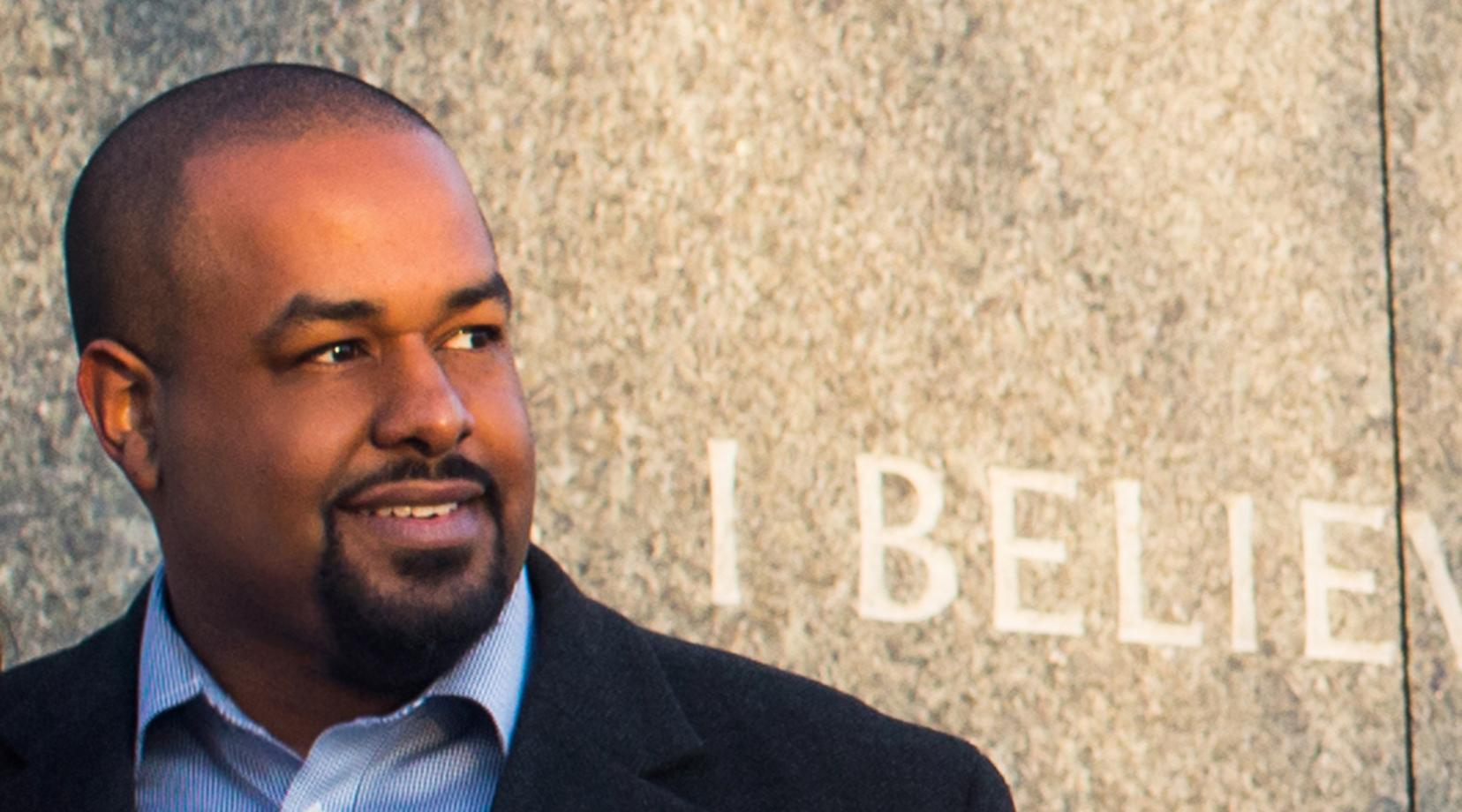 <p>Joshua DuBois, CEO, author, media commentator, and former Obama White House official, will give the parting words of wisdom to the graduating class of December 2019 during his keynote address at the Commencement Ceremony.</p>