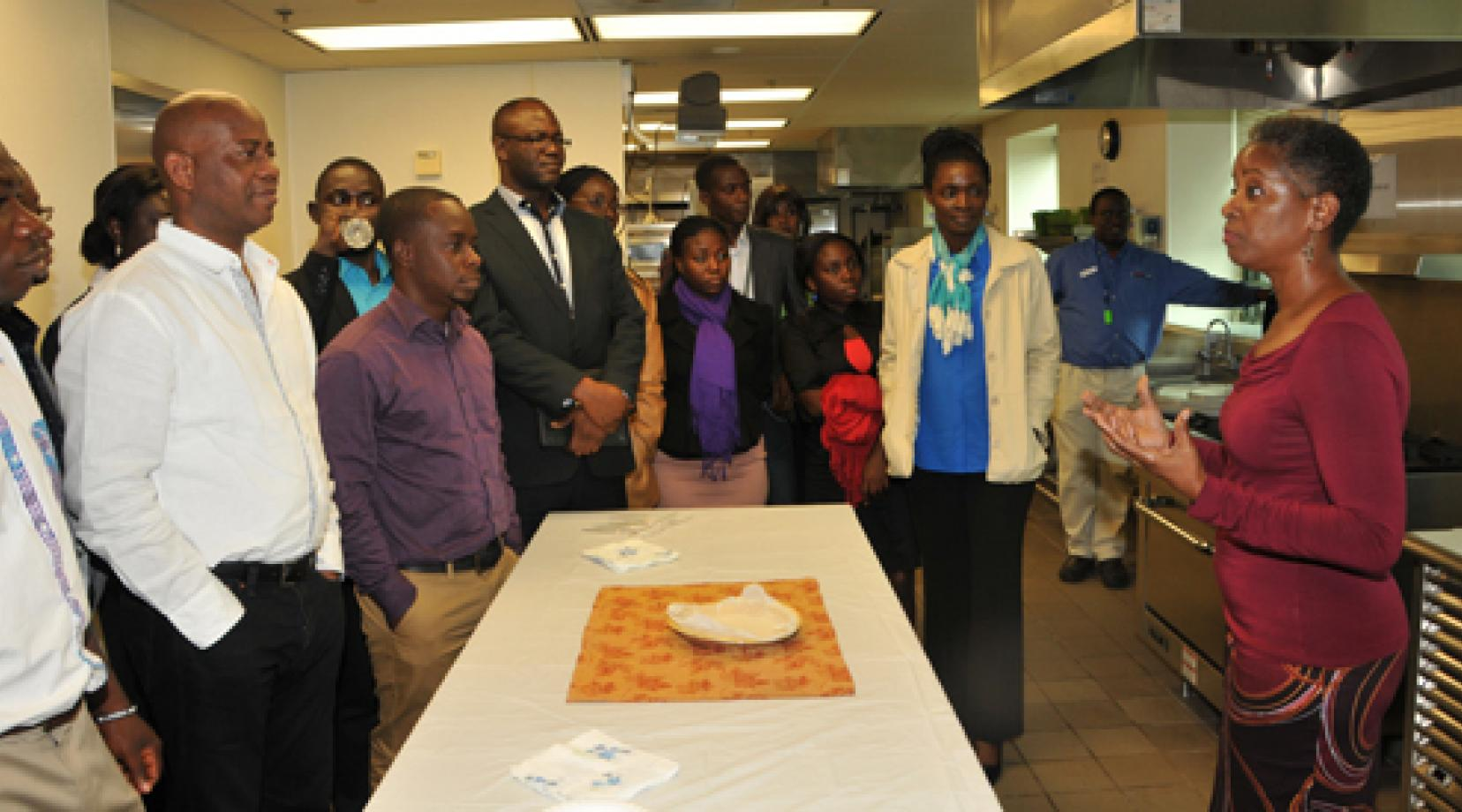 Judicial College Guidelines >> GIMPA Group from Ghana Visits DSU