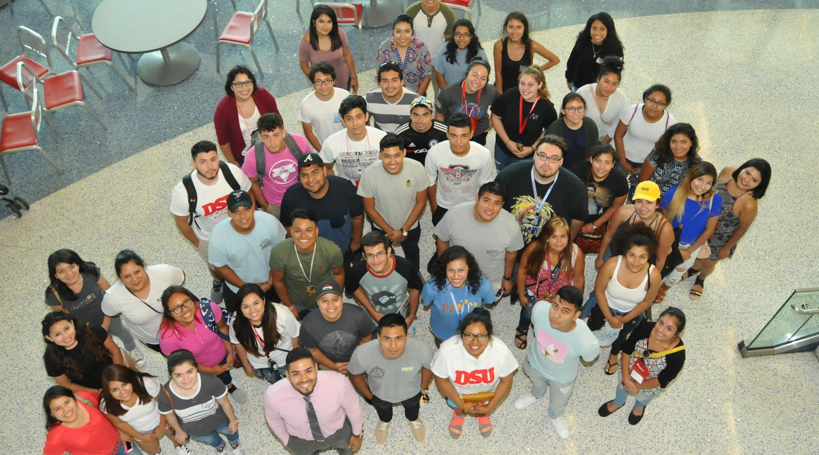 "A new group of ""Dreamers"" -- undocumented immigrant students who have enrolled at DSU under the Opportunity Scholarship Program -- have begun their academic journey at Del State."