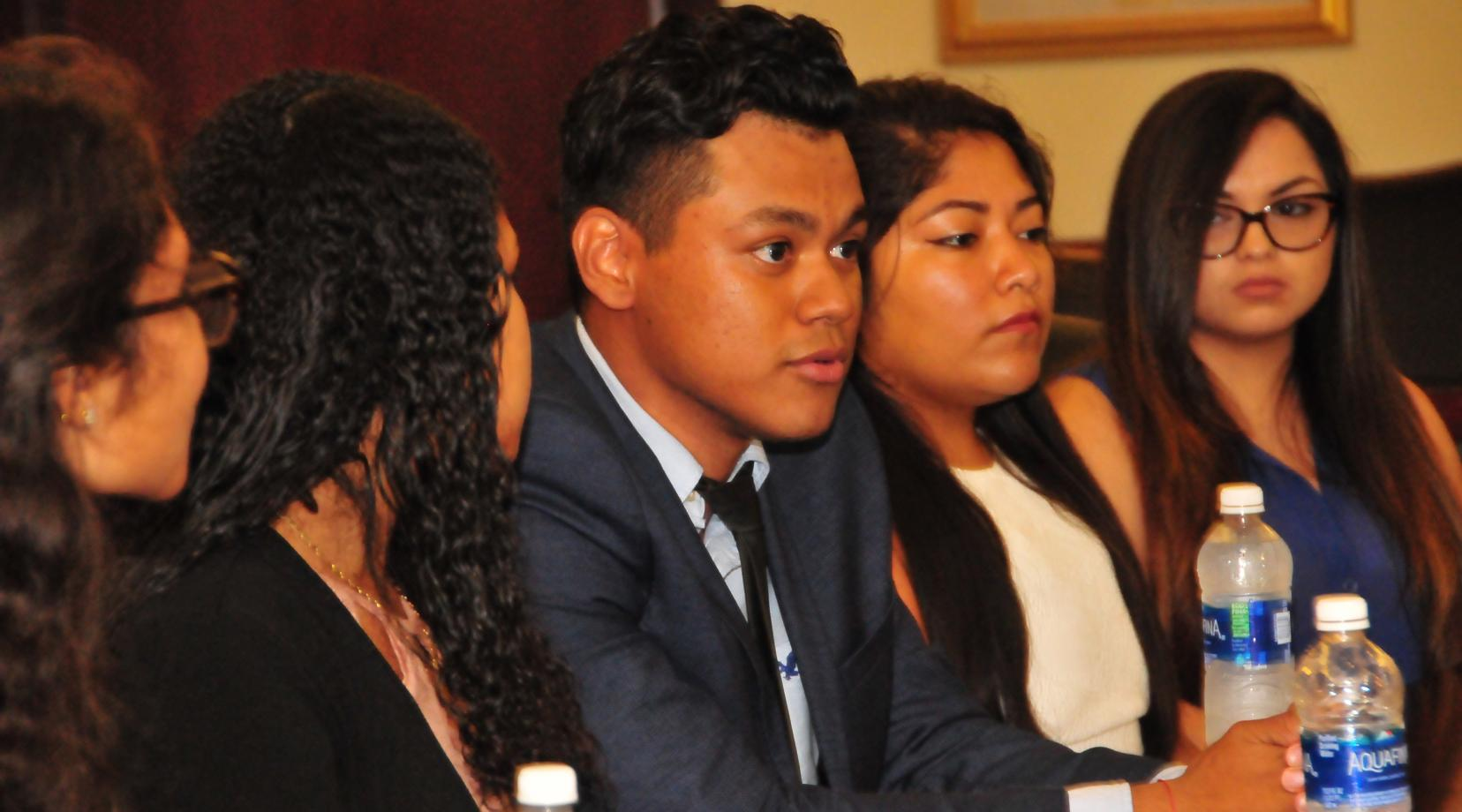 <p>Kevin Gutierrez, a sophomore Dreamer from El Salvador, shares his feelings about being a Dreamer. He is quoted at the beginning of the below statement from Provost Tony Allen.</p>