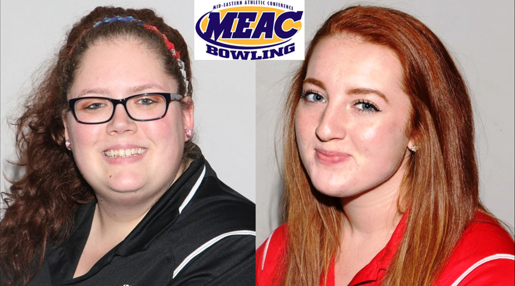 <p>Kayla Stamm, MEAC Coach-of-the-Year. Alexis Neuer, league's 2017-18 Bowler-of-the-Year.</p>