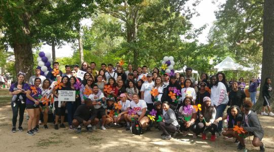 <p>The Hornets for a Cure team -- 153 strong -- participated in the Sept. 29 Walk to End Alzheimer's in Rehoboth Beach.</p>