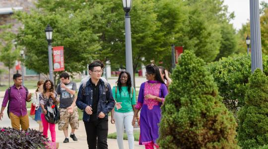 <p>The University credits its current 73% freshmen retention rate -- the highest-ever in University history -- as one of the factors that has led to a new enrollment record this fall.</p>