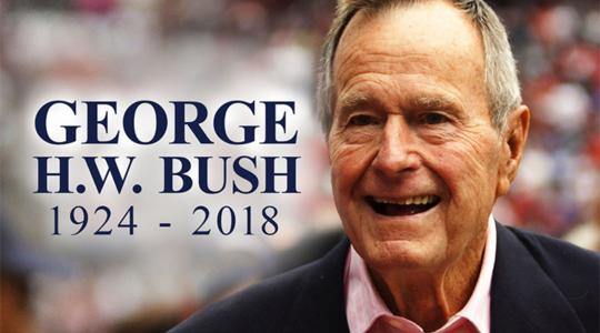 <p>In sharing her thoughts on the late President George H.W. Bush, Delaware State University President Wilma Mishoe noted that most current students on campus were not yet born during the 1989-1993 years of his presidency.</p>