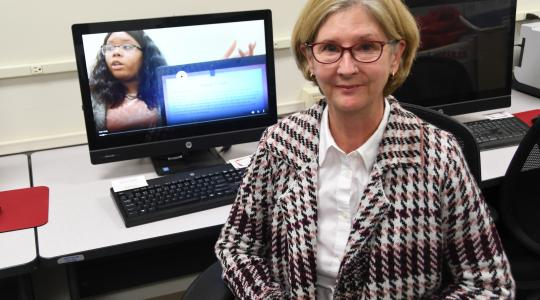 <p>Dr. Donna Bain Butler will conduct English workshops to help prosecutors and government officials to be better able to communicate with their legal counterparts in the U.S.</p>