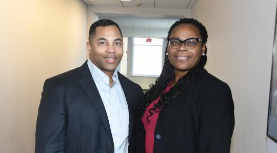 <p>DSU's LaShawne Pryor and Rosetta Brickhouse have been selected to serve as Honorary Commanders of Dover Air Force Base's 436th Force Support Squadron.</p>