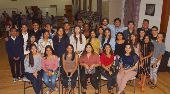 <p>The newest class of Dreamers at Delaware State University were welcomed at an Aug. 29 reception.</p>