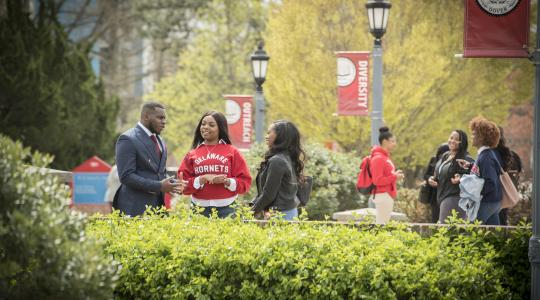 <p>Delaware State University has maintained its position among public HBCUs (#4) and  among all 102 HBCUs  is #13 in the annual HBCU rankings published by the U.S. News &amp; World Report this week.</p>
