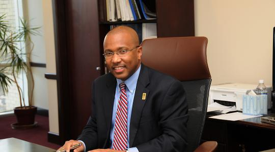 <p>DSU President Harry L. Williams will share some of the innovative initiatives at DSU with a gathering of presidents and chancellors of black institutions of higher education.</p>