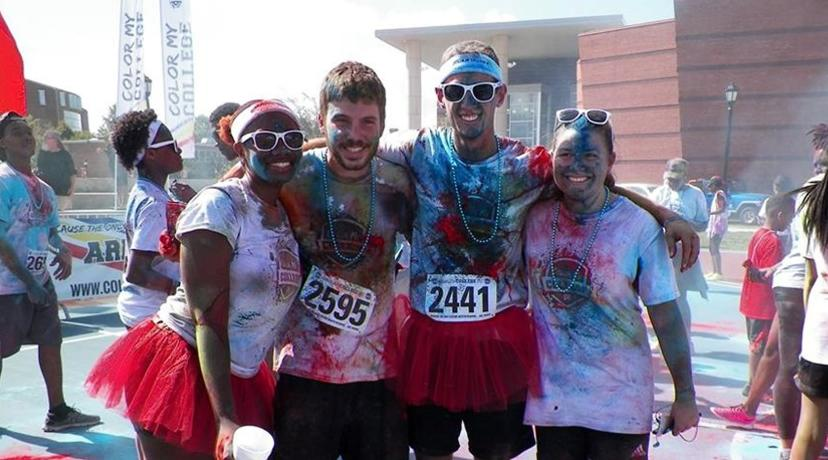 <p>Fun Times at the Hornet Hustle 5K Color Run</p>