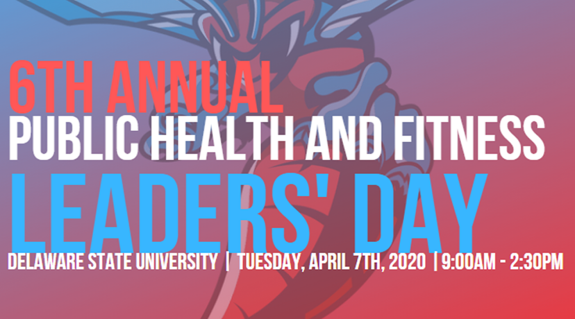 <p>6th Annual Public Health and Fitness Leaders&#039; Day</p>