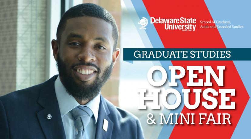 <p>Graduate Studies Open House & Mini Fair</p>
