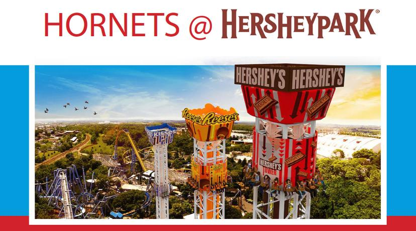 <p>Join us for Hornets @ Hersheypark</p>