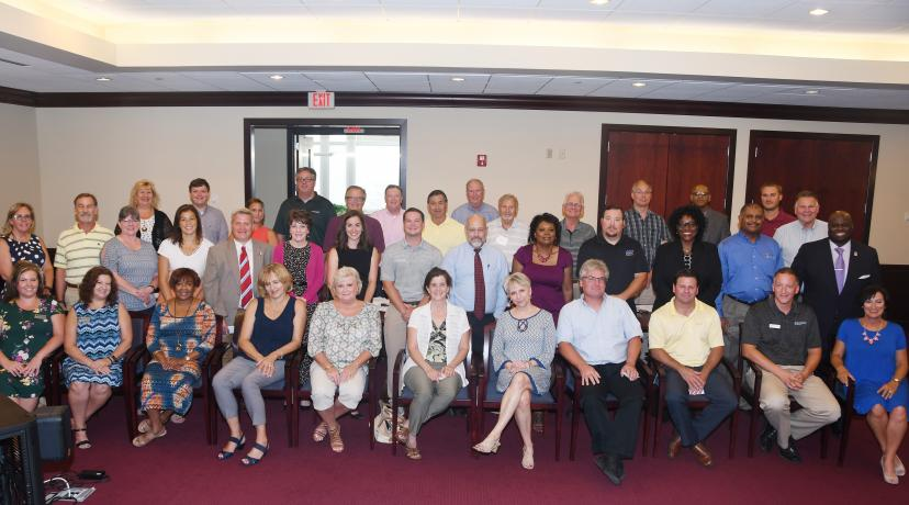<p>A gathering of the Kent County Plant Managers group met July 17 at DSU and posed for a Kodak moment.</p>