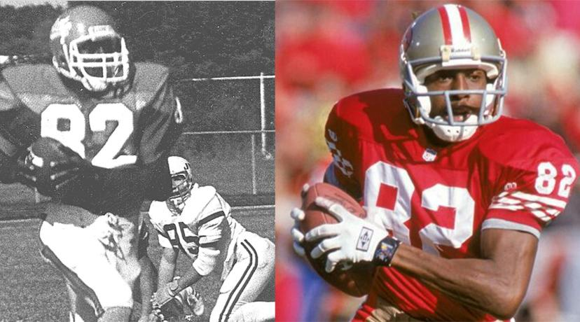 <p>John Taylor, shown right in his Hornet days, and left as a San Francisco 49ers, has been selected to be inducted in the Black College Hall of Fame.</p>