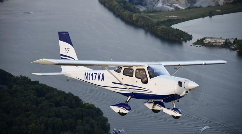 <p>The University's Aviation Program is expanding its fleet with 10 of the pictured 10 Vulcanair V1.0 aircraft.</p>