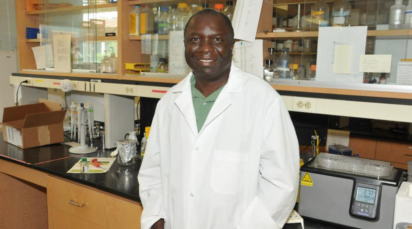 <p>Dr. Vincent Fondong, professor of biological sciences, successfully wrote the grant which will be used to help nontraditional students in the STEM disciplines</p>