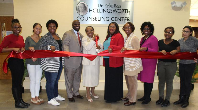 U003cpu003eThe Opening Of The Dr. Reba Ross Hollingsworth Counseling Center At The Part 66